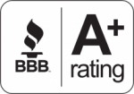 A+ Rated by the Better Business Bureau